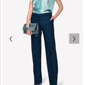 NEW Salvatore Ferragamols Green Trousers